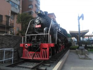 上海鉄路博物館の蒸気機関車