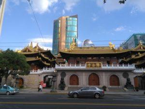 上海静安寺外観