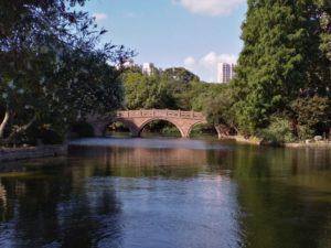 魯迅公園内の池