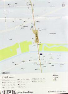 呉中路駅周辺図(出入口)