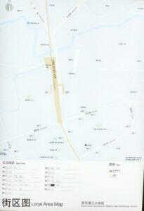 華東理工大学駅周辺図(出入口)
